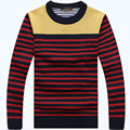 2015 Winter New Fashion Sweater Men Casual Slim Fit O Neck Long Sleeve Knitted Pullovers Sweater Plus Size 68