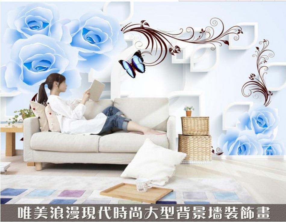 Online Kaufen Großhandel romantische blaue schlafzimmer aus China ...