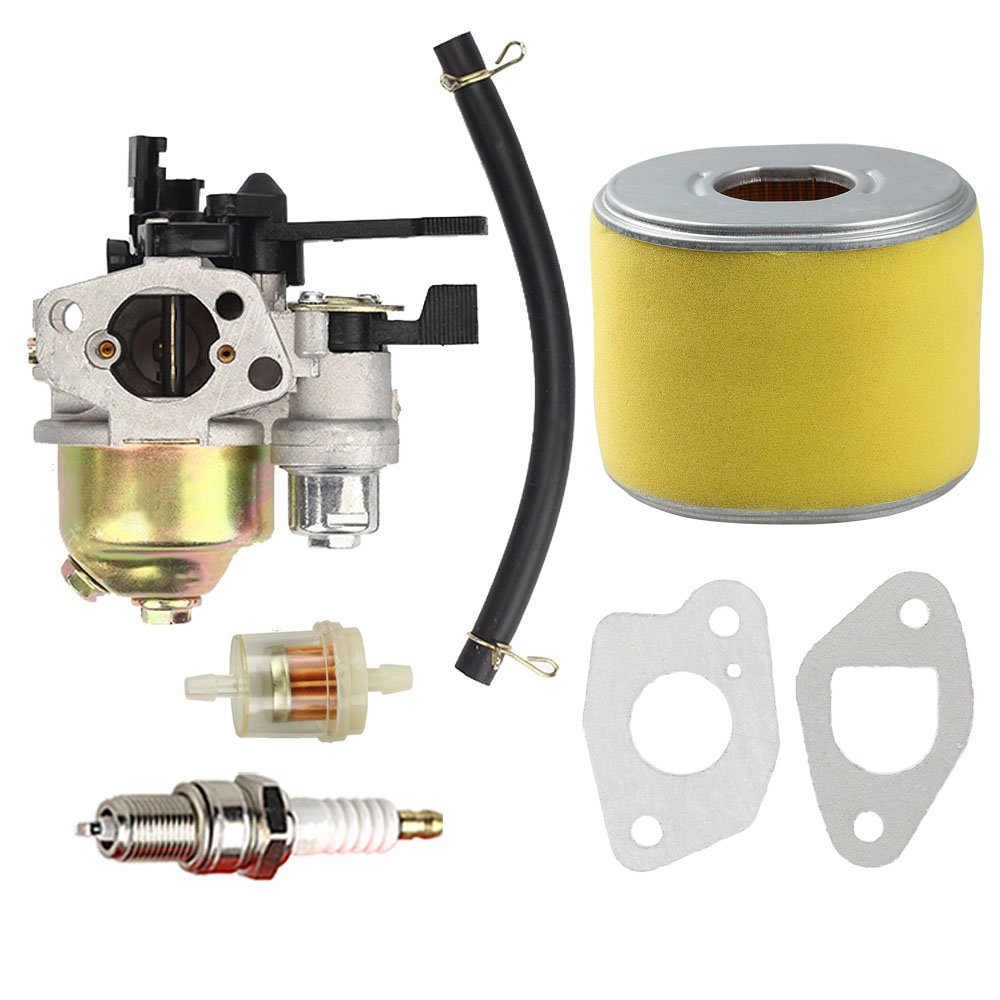 Carburetor with Air Filter Tune up kit for Honda GX120 GX110 Engine #16100 ZH7 W51