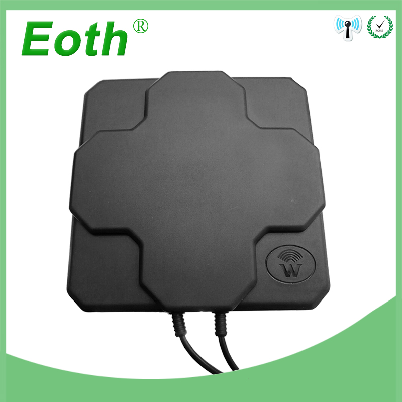 4G LTE Antenna N Male Outdoor Panel High Gain 18dbi 698-2690MHz 4G Aerial Directional mimo External Antenne For Wireless Router