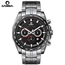 Luxury brand men's watches fashion solar watch men's luxury multi-functional sports watch men's stainless steel waterproof 100M
