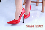 13cm red strapless red plating heels cdts dressing sexy high-heeled shoes big yards 5-12 yards queen heels