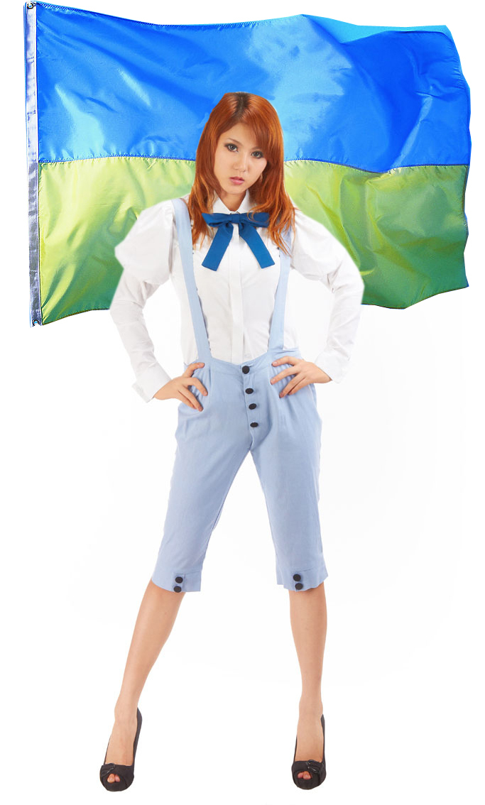 Free Shipping Axis Powers Hetalia Ukraine Anime Cosplay Costume