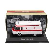 Atlas 1:43 Ambulans Barkas B1000 1965 Ambulansformade modeller Utgåvor Leksaker Bilsamling Auto