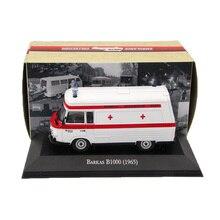 Atlas 1:43 Ambulance Barkas B1000 1965 Ambulance Diecast Models Editions Toys Car Collection Auto цена в Москве и Питере