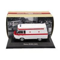 Atlas 1 43 Ambulance Barkas B1000 1965 Ambulance Diecast Models Editions Toys Car Collection Auto