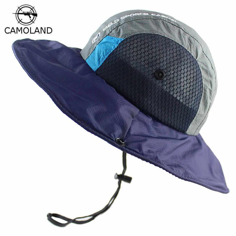 Quick-drying Lightweight UPF50+ UV Protection Summer Bucket Hat Men Women Sun  Hat Breathable Mesh 3d5537c9a