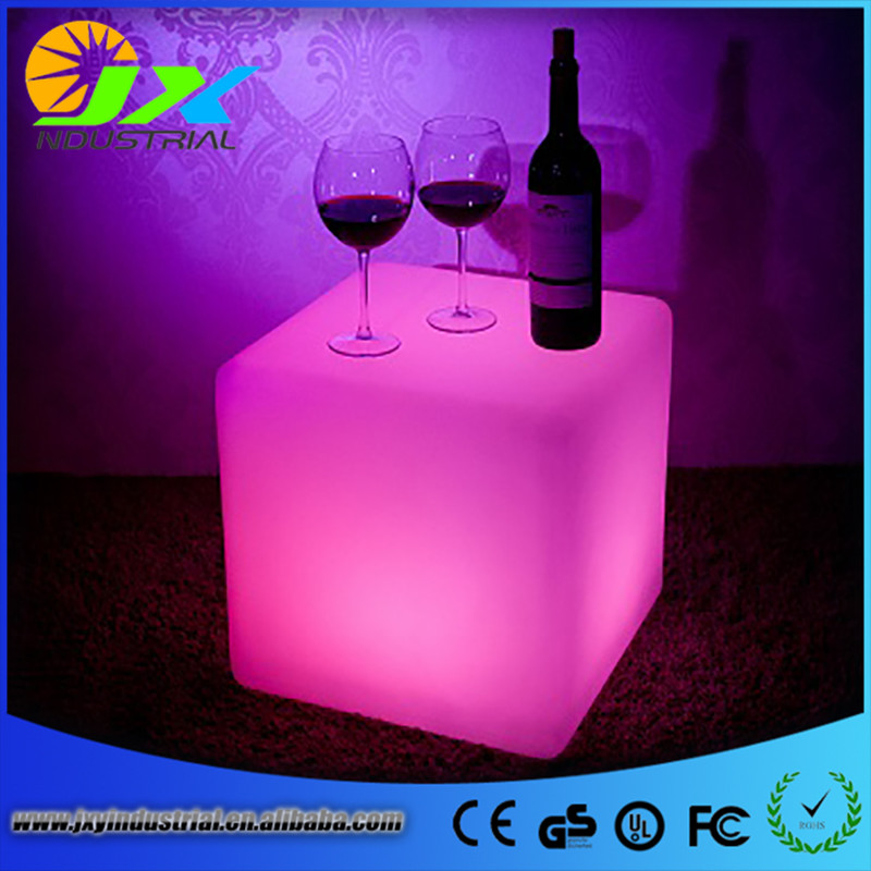 led furniture cube chair ...