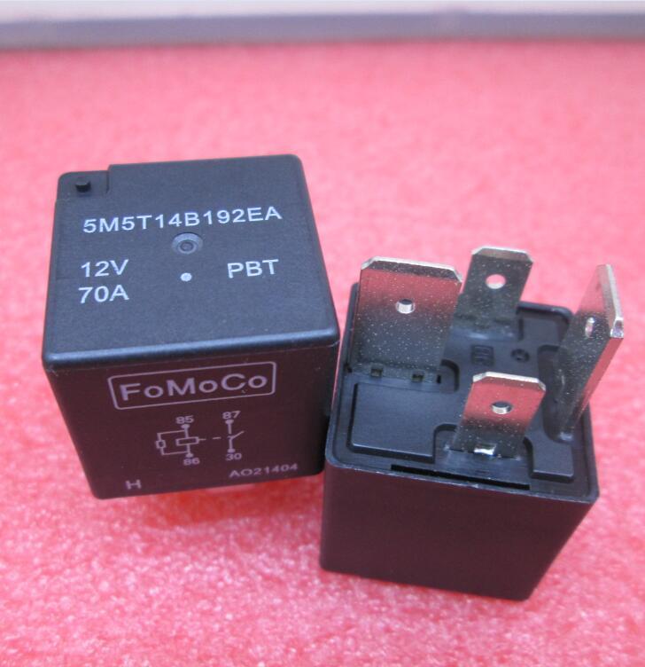 6bbfc915f61ad NOWY 12VDC przekaźnik 5M5T14B192EA 5M5T14B192 5T14B192EA 5T14B192 12 V 70A  DC12V DIP 10 sztuk/partia