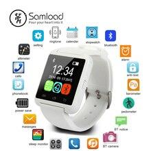 Smartwatch Bluetooth Smart часы U8 наручные часы Цифровые спортивные часы для IOS Android samsung телефон носимая Электроника устройства