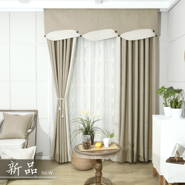 Blackout Curtains For Living Room Blue Solid Bedroom Window Curtain Green  Drapes Insulated Thermal Panels Embroidered