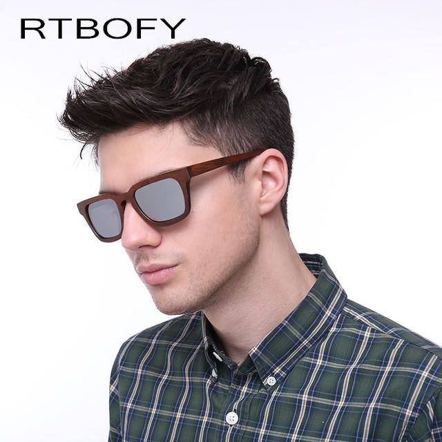 c073003990 RTBOFY 2017 Fashion Wood Bamboo Sunglasses Polarized sunglasses Sun Glasses  Handmade Cheap Sunglasses ZB01