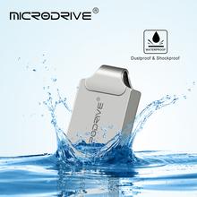 Super Mini Metal USB Flash Drive 64GB 32GB 16GB Pen Drive memoria usb stick 8GB 4GB Pendrive Real Capacity USB 2.0 Flash Drive