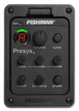 Guitar Pickups Fishman Presys + Preamp 201 EQ Tuner Piezo Pickup Equalizer System Acoustic Guitar Pickup
