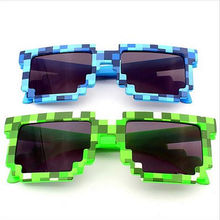 Minecraft Glasses Deal With It Brand Designer Men Women's 8 Bits Pixel Retro Sunglasses Female Male Mosaic Sun Glasses