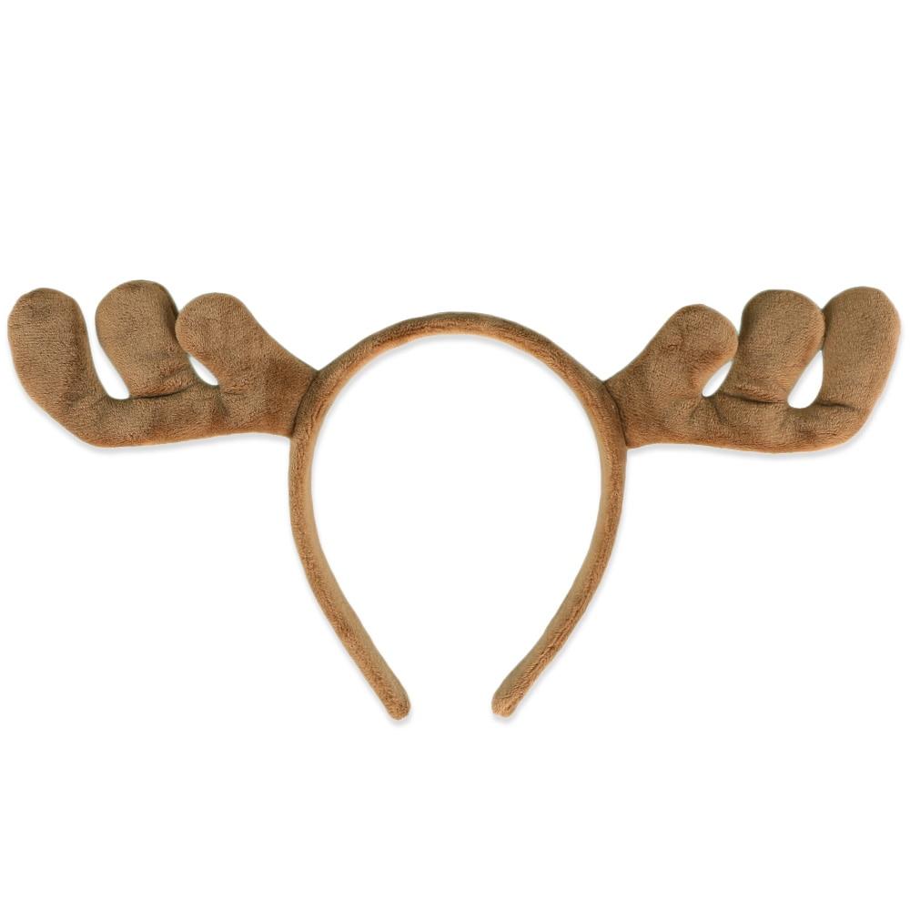 Halloween Party Cosplay Judy Nick Elk Antlers Cute Kawaii Fox Rabbit Ear Soft Headband Accessories Baby Kids Zootopia Headband