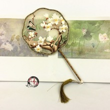 Suzhou Two-Sides embroidery Hand Fan