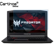 Cartinoe 15.6 Polegada 16:9 protetor de tela do portátil para acer predator helios 300 G3-571 notebook guarda filme anti luz azul 2 pçs(China)