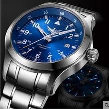 NEW Yelang Men Quartz Watch Tritium T100 Waterproof 100m Ron