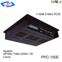 Low Cost 15 Inch Touch Screen Embedded Industrial Tablet PC IP65 Fanless Design With Intel Core I3-3110M/I5-3210M/I7-3610QM