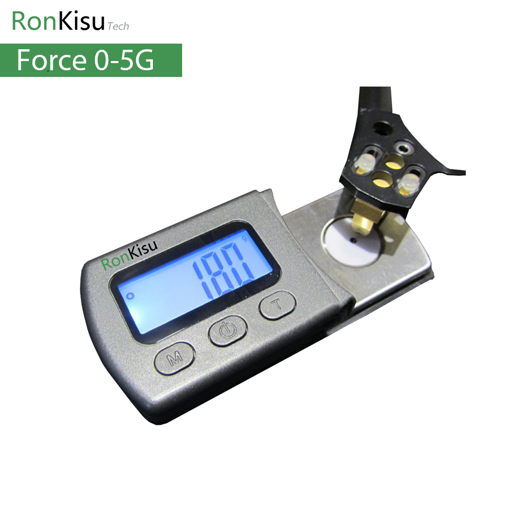 Lp Vinyl Turntable Stylus Force Measurer Digital Display Pressure Scale Phonograph Adjust Maintenance Tool Accessories