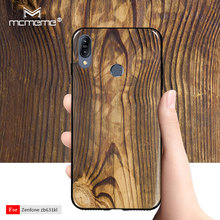 Case For Asus Zenfone Max Pro M2 ZB631KL cover Soft TPU Silicone Wood