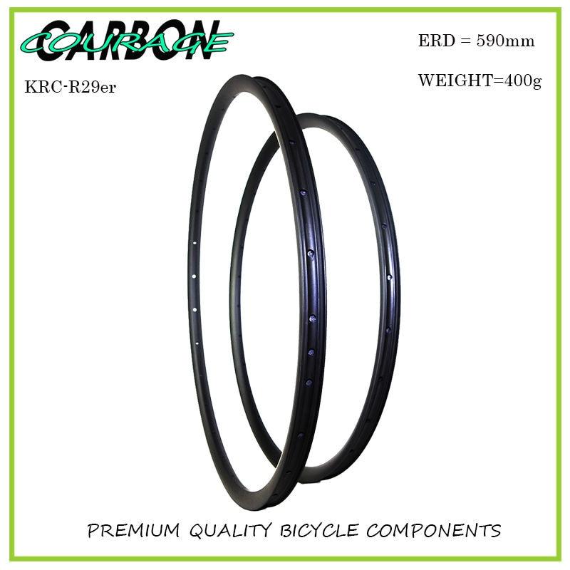 Light weight 29ER  carbon mtb rims 35mm width offset carbon mtb rims