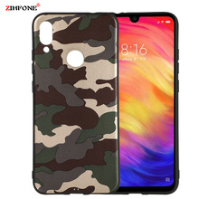 Fundas Army Camo Camouflage Case sFor Xiaomi Redmi Note 7 Soft TPU Silicone Phone Cases Back Cover On Pro