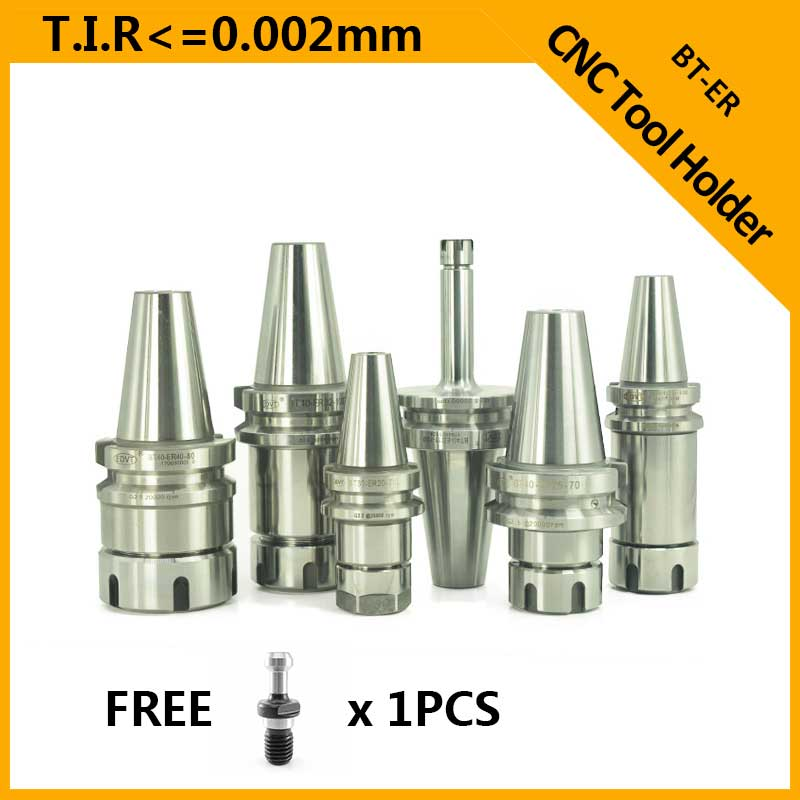 BT30 tool holder Chuck Milling Tools CNC BT Collet Chuck High Speed CNC Machine Cutting BT30 ER20 ER25 ToolHolder BT3-ER32-70 hsk63a er25 100l high speed automatic tool change device spindle cnc milling machine tool