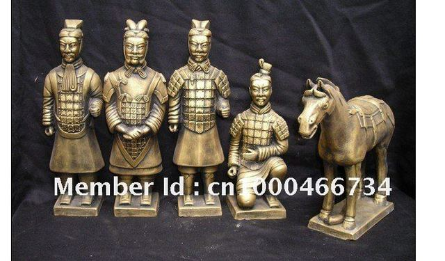 10cm Painting of Terracotta Army
