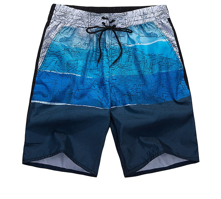 2018 New Men's Beachwear   Board     Shorts   Quick Dry With Mesh Lining Trunks,Mens Casual Printed   Shorts   Beach Pants