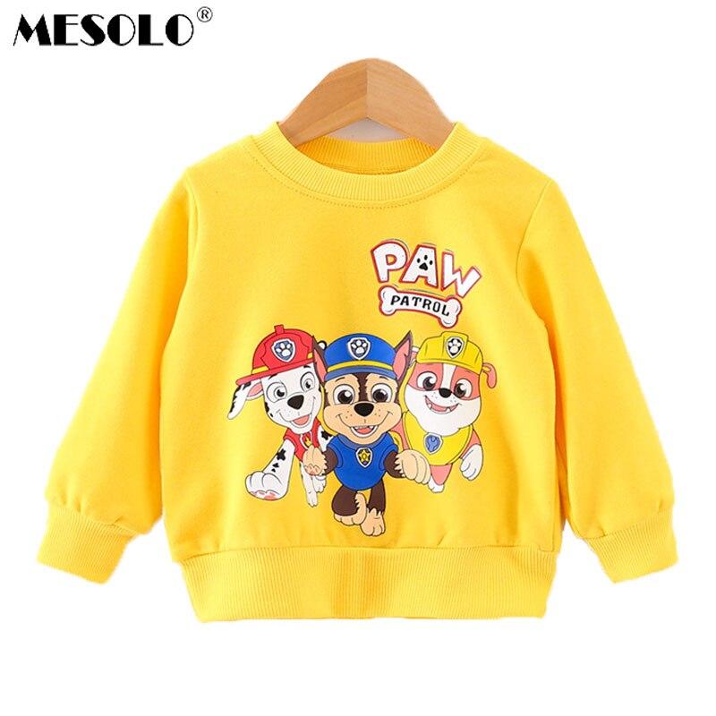 MESOLO Jacket Children's-Wear Long-Sleeve Printing Baby Cartoon Lovely of K0065 Fan Upper-Garment