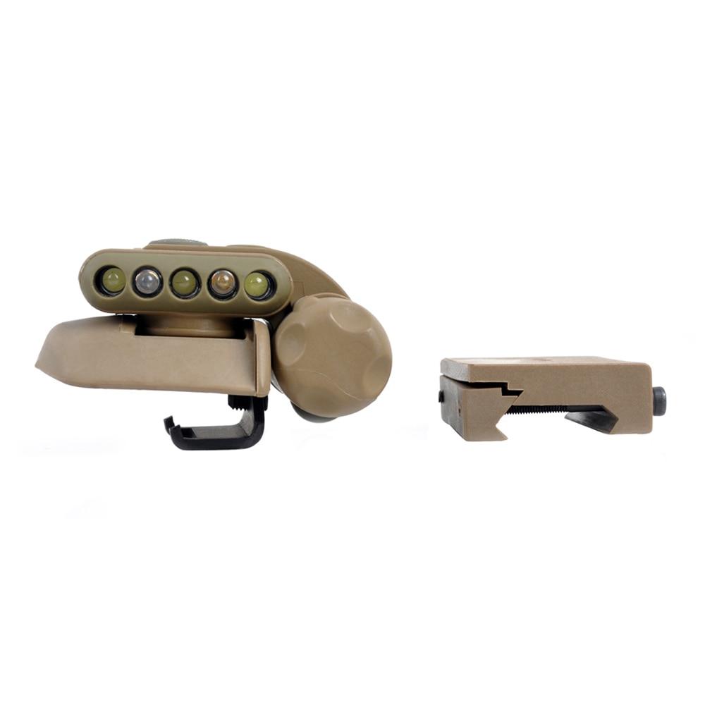 WIPSON Helmet Tactical Light SET GEN 2 DE (White&Red ) Survival reading Indicator Light