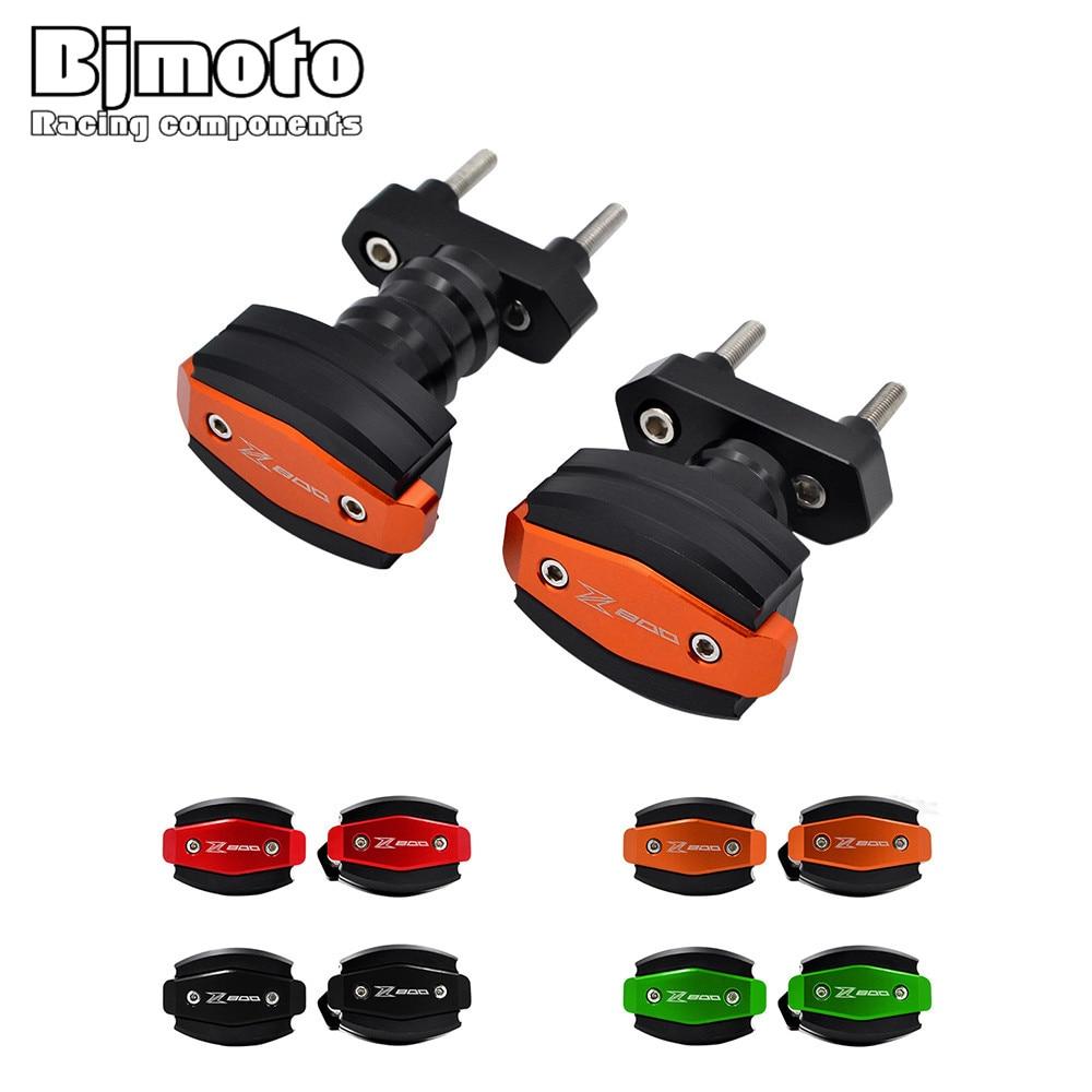 BJMOTO Falling Protectors Motorcycle CNC Aluminum Frame Slider Anti Crash Caps Engine Protection Moto Sliders For