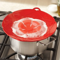 Silicone kitchen cover Cooking Tools Flower spill stopper silicone lid for pot microwave cover