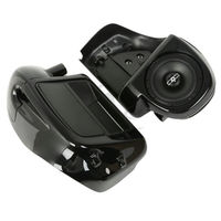 6 5 Speaker Box Pod Lower Vented Fairing For Harley Road King Electra Street Glide Touring