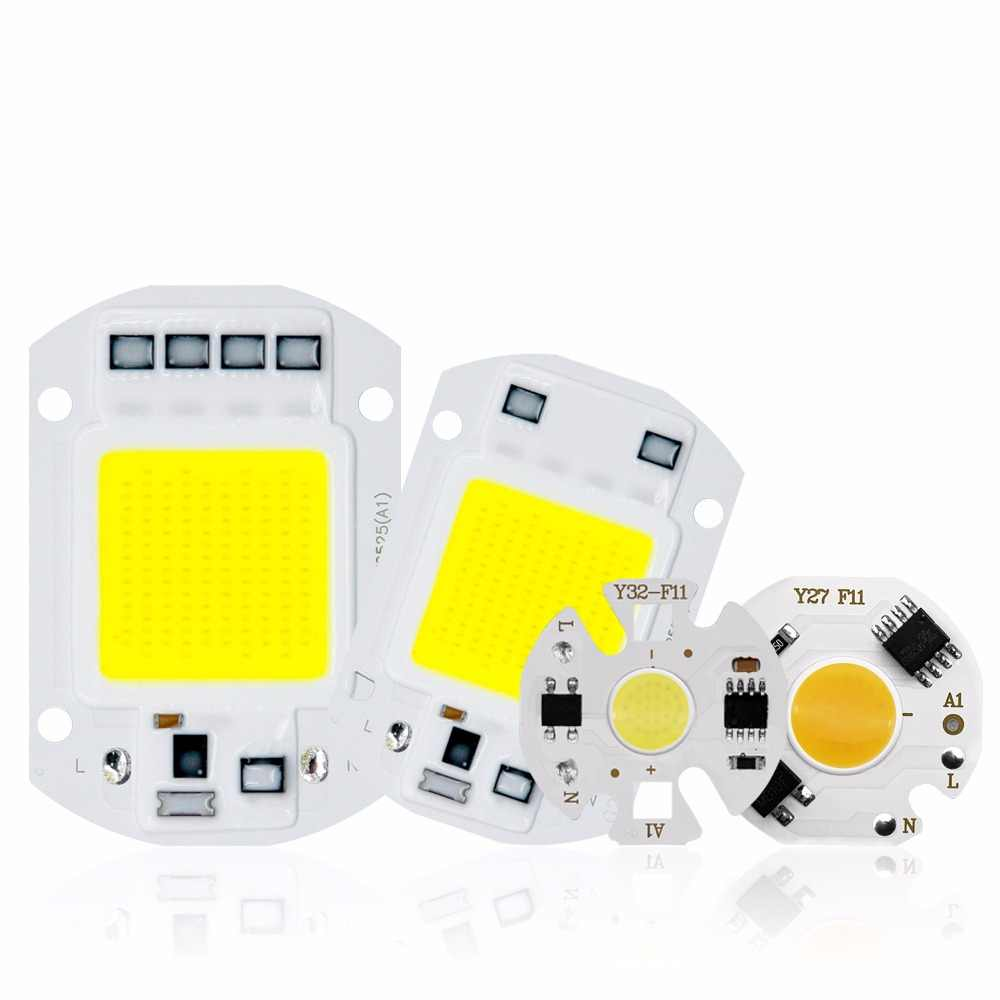 COB LED Chip Light 220V 10W 50W 20W 30W 3-9W rectangular Chip Lamp For Spotlight Led Floodlight Lamp Y27 Y32 Not Need Driver DIY