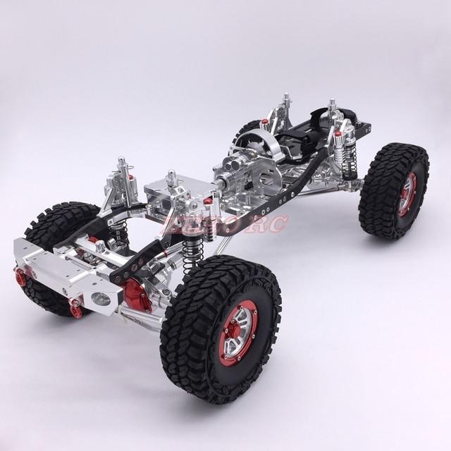 Cool Racing CNC 1/10 Rock crawler aluminio axial scx10 chasis W ...