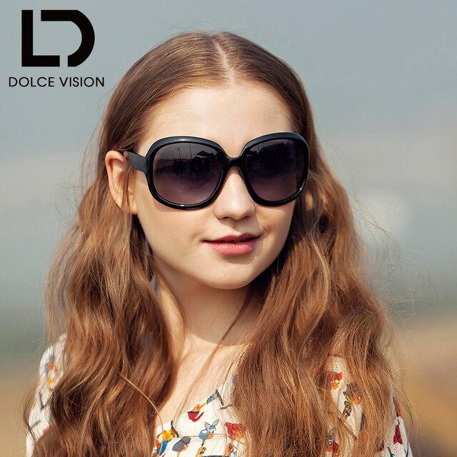 e629de5659 DOLCE VISION Retro Butterfly Polarized Sunglasses Women Brand Designer Eyewear  Female Shades Oversize Sunglass Oculos de