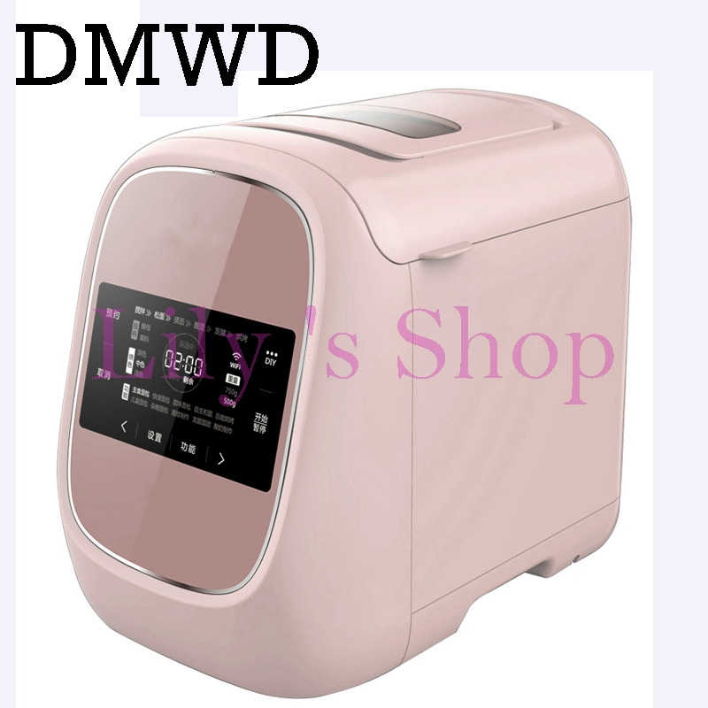 Automatic electric MINI Bread baking Maker Intelligent User-Friendly fruit Bread Machine toast Breadmaker cake yogurt EU US plug 12l electric automatic spain churros machine fried bread stick making machines spanish snacks latin fruit maker