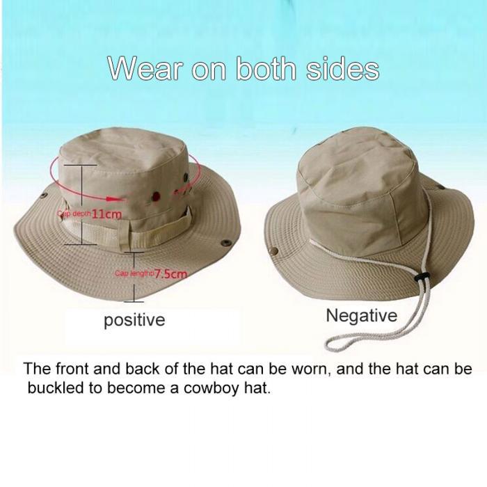 Recém-homem mulher chapéu de sol viseira boné
