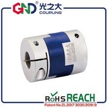 Free shipping Aluminum Alloy shaft 5mm 8mm coupler Diameter 40 Length 50 Flexible Oldham Clamp Transmission Shaft Couplings tbc shock bolt diameter 8mm shaft length 24mm 92 1024