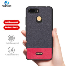 PHOPEER Silicone Case for Xiaomi Redmi 6 Pro case cover XiaoMi 6A soft tpu shockproof fashion fabric back
