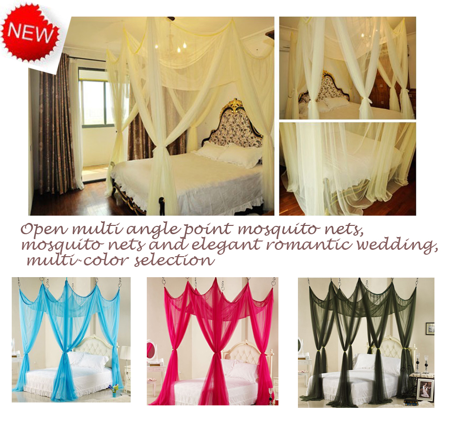 Newromantic bed canopy Mosquito NetLarge Bed CanopyMultiple color choicesElegant and romantic wedding netslace bed canopy-in Mosquito Net from Home ...  sc 1 st  AliExpress.com & Newromantic bed canopy Mosquito NetLarge Bed CanopyMultiple ...