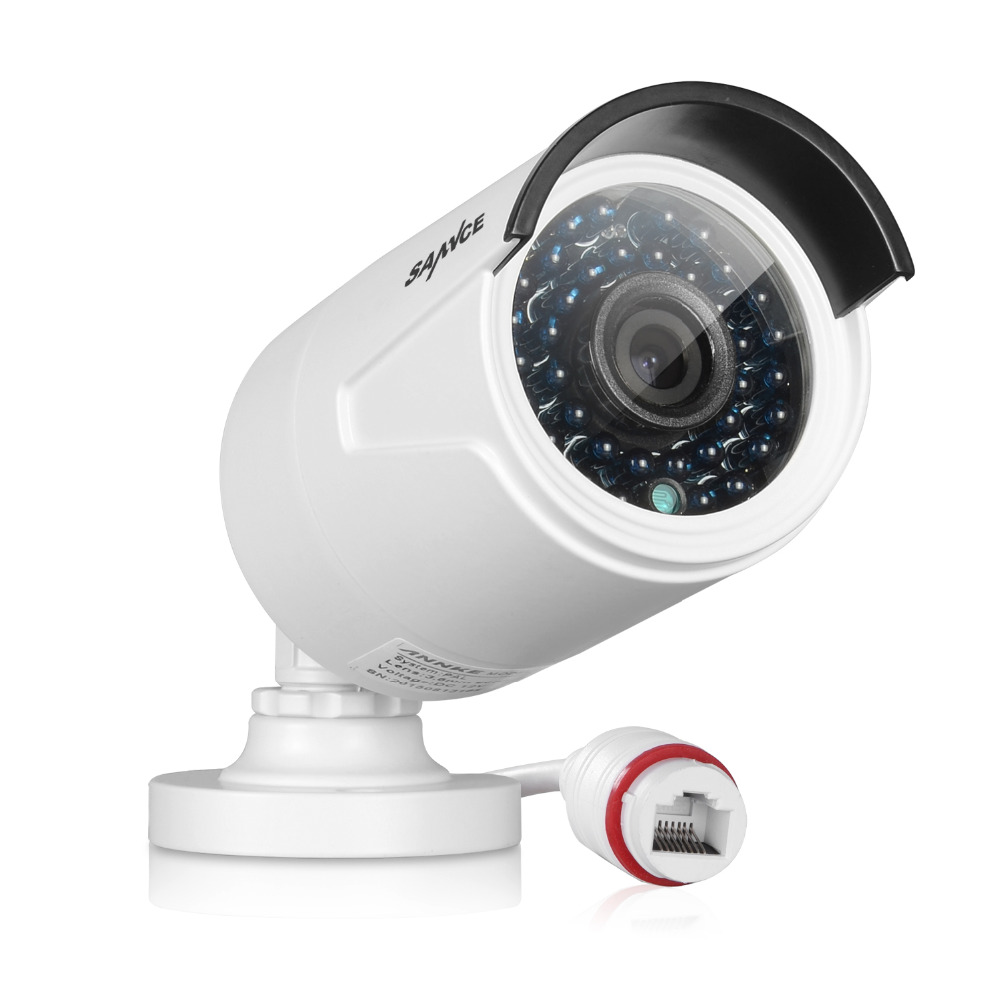 SANNCE 720P IP Network Security Camera ONVIF Indoor And Indoor For The POE NVR CCTV System