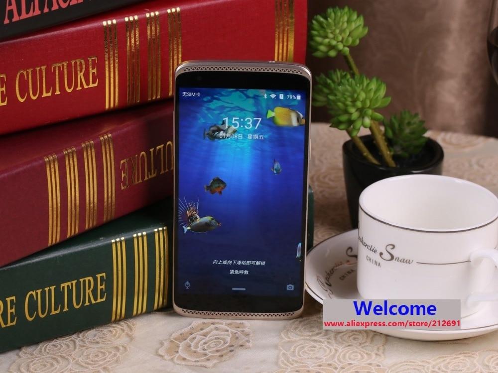"bilder für Ursprüngliche ZTE Axon mini ZTE B2015 Snapdragon Ocat Core 3 GB RAM 32 GB ROM 4G-LTE 5,2 ""AMOLED 1920*1080 Pixel Play Store Dual SIM"