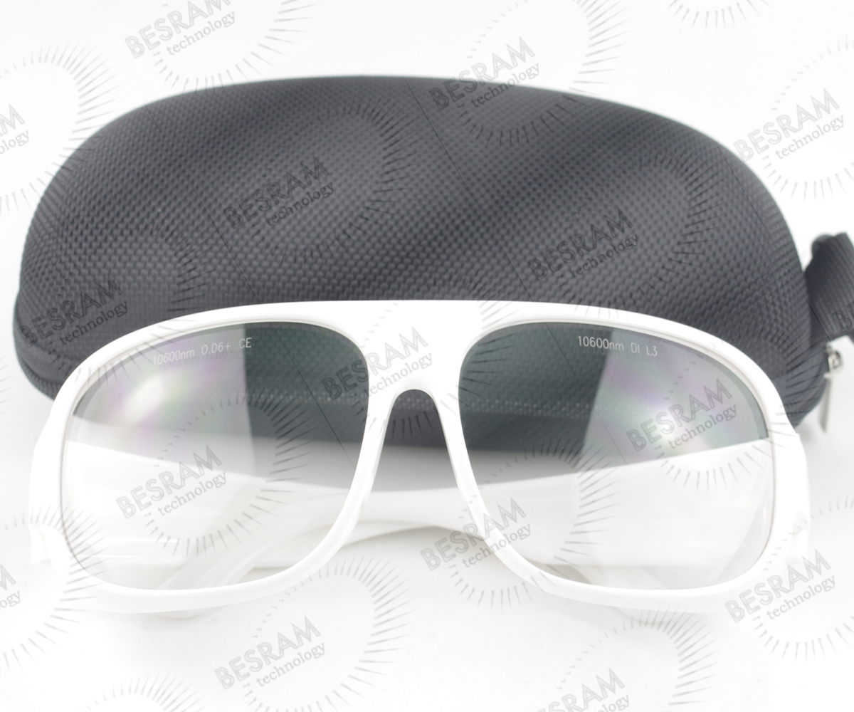CE Certificate 10600nm CO2 OD6 Laser Protective Goggles Safety Glasses for Laser Cutting Machine Engraving Machine