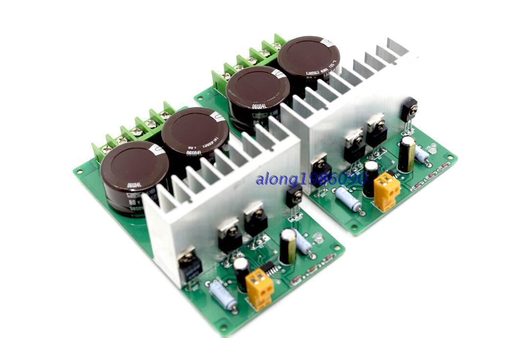 2 channle AMP IRAUD200 Class D Power amplifier board IRFB4227 (700W+700W ) rst rst 05301