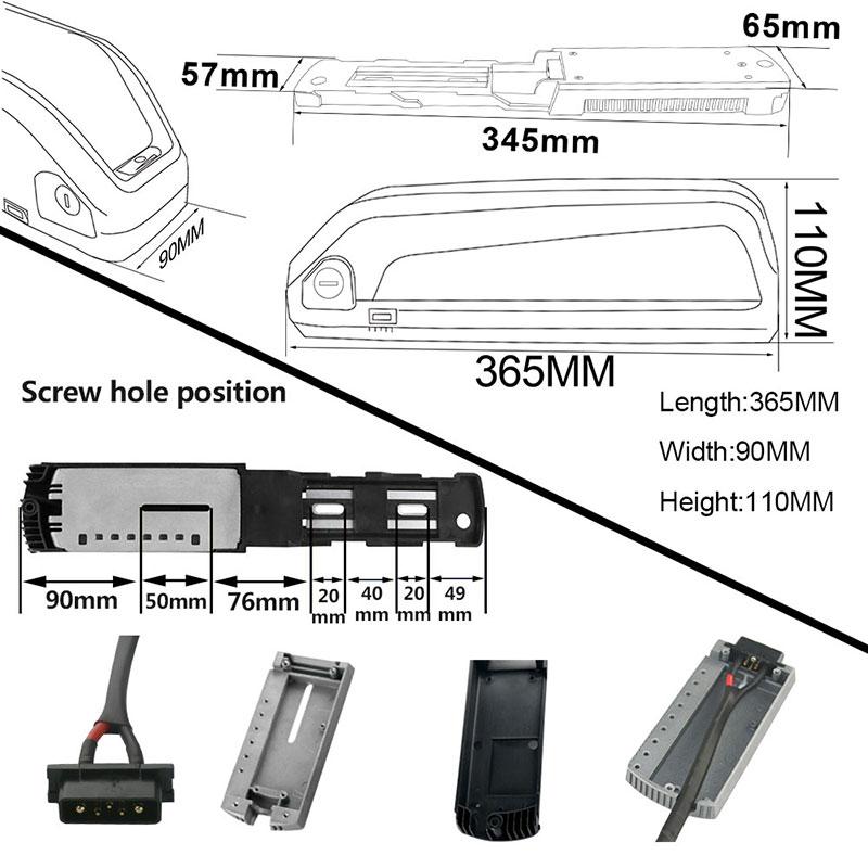 Size-hailong battery