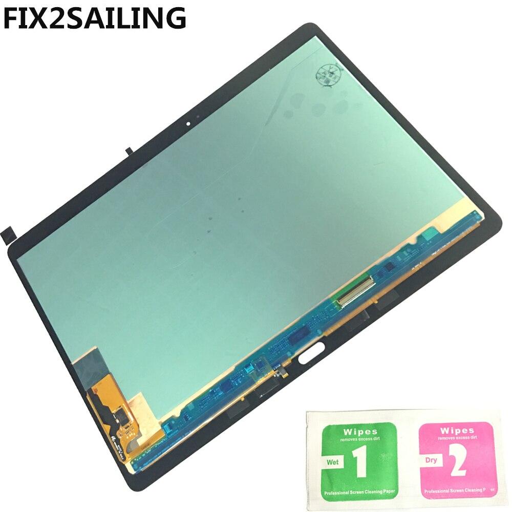 Оригинальный ЖК-дисплей Дисплей с Сенсорный экран планшета Датчики Полное собрание Панель для Samsung Galaxy Tab S T800 t805 sm-t800 sm-t805